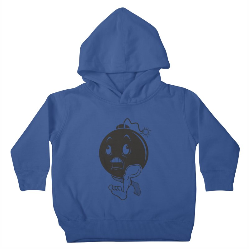 A Short Fuse Kids Toddler Pullover Hoody by Sheepdogdesign's Artist Shop
