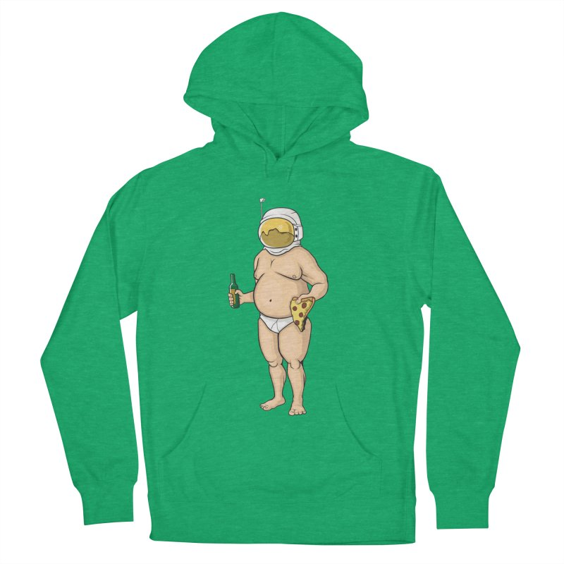 Space, Beer, and Pizza Men's Pullover Hoody by Sheepdogdesign's Artist Shop