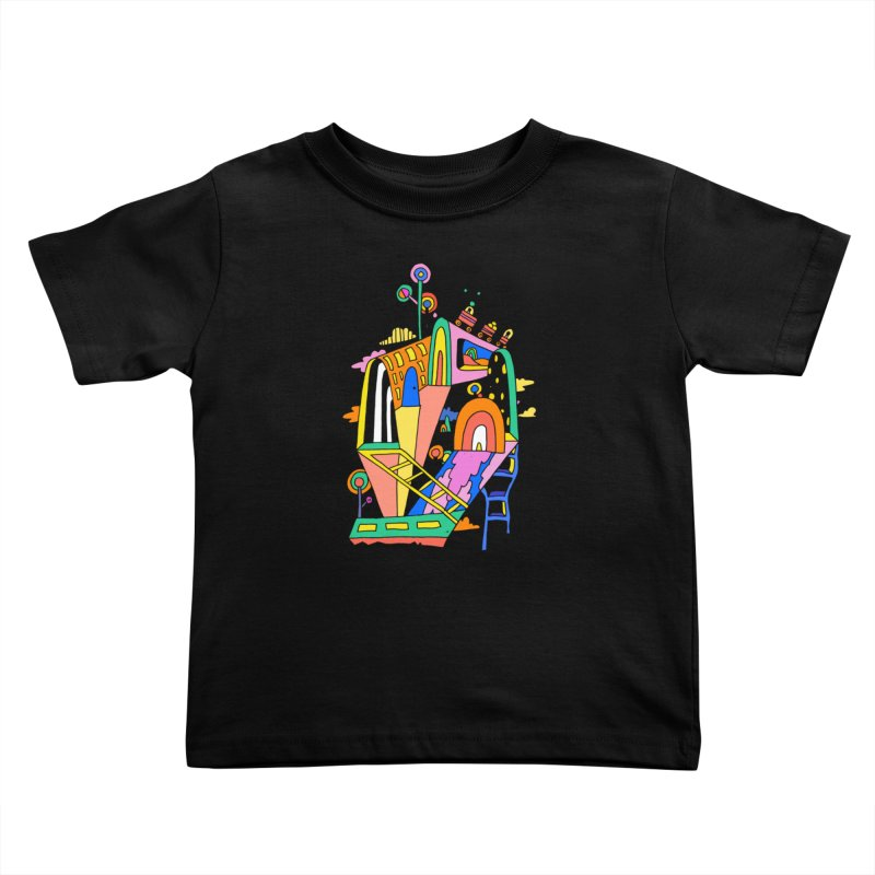 Lollipop Train Kids Toddler T-Shirt by Shelby Works