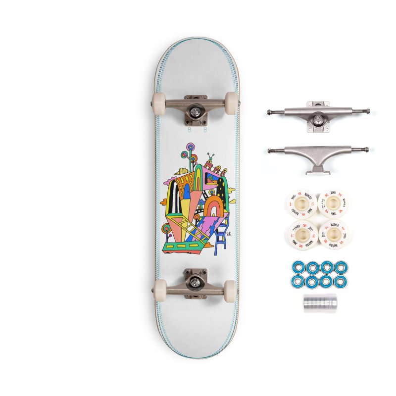 Lollipop Train Accessories Complete - Premium Skateboard by Shelby Works