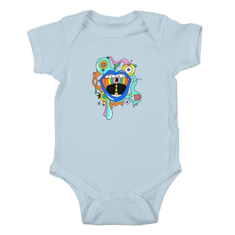 Chomp Chomp Kids Baby Bodysuit by Shelby Works