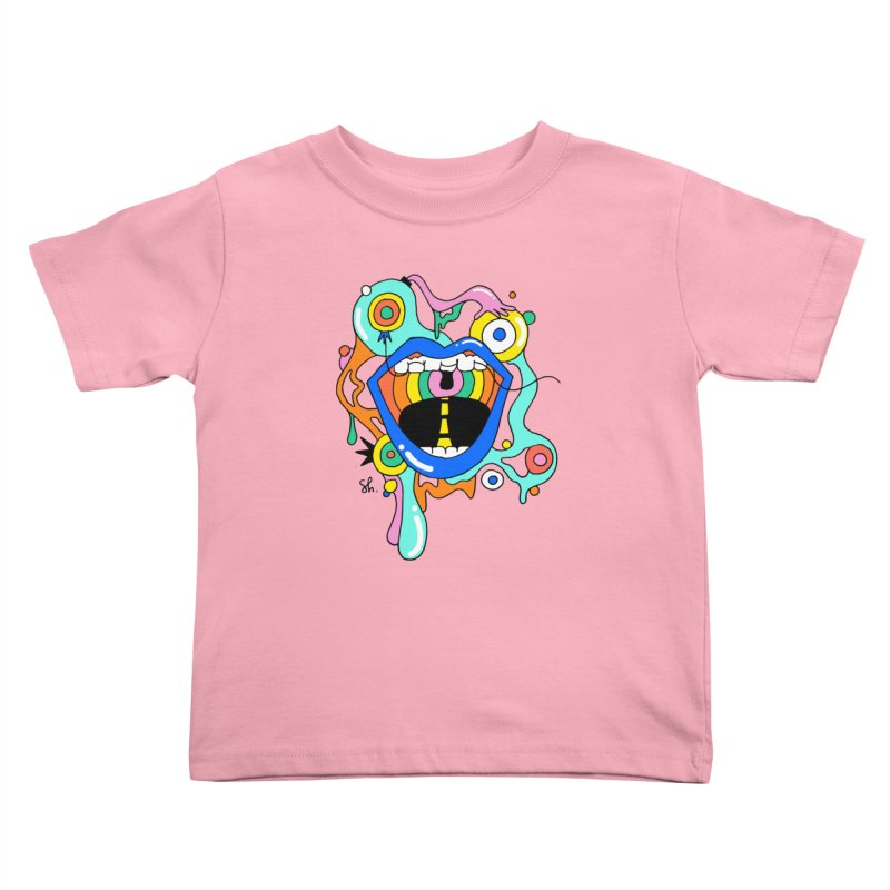 Chomp Chomp Kids Toddler T-Shirt by Shelby Works