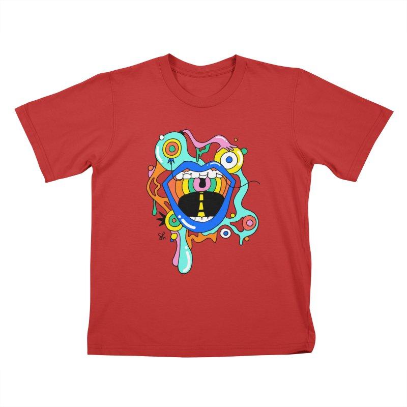 Chomp Chomp Kids T-Shirt by Shelby Works
