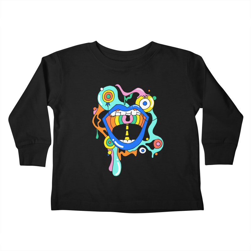 Chomp Chomp Kids Toddler Longsleeve T-Shirt by Shelby Works