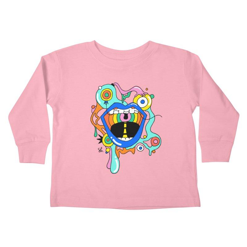 Chomp Chomp Kids Toddler Longsleeve T-Shirt by Shelby Works