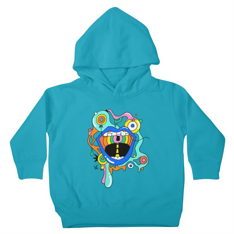 Chomp Chomp Kids Toddler Pullover Hoody by Shelby Works