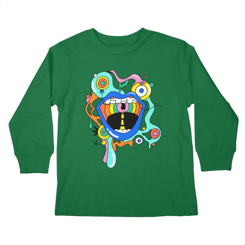 Chomp Chomp Kids Longsleeve T-Shirt by Shelby Works