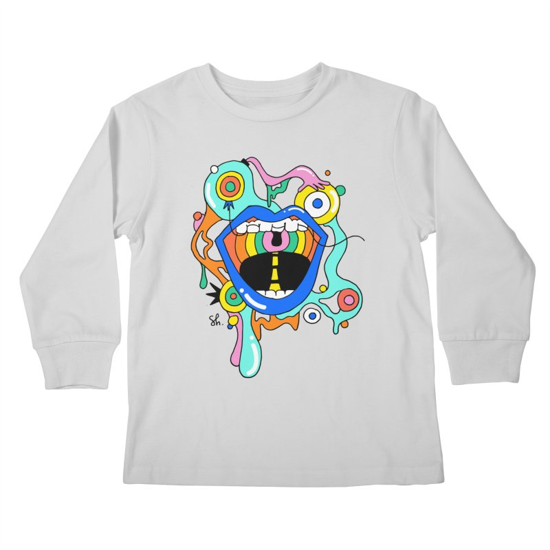 Chomp Chomp Kids Longsleeve T-Shirt by Shelby Works
