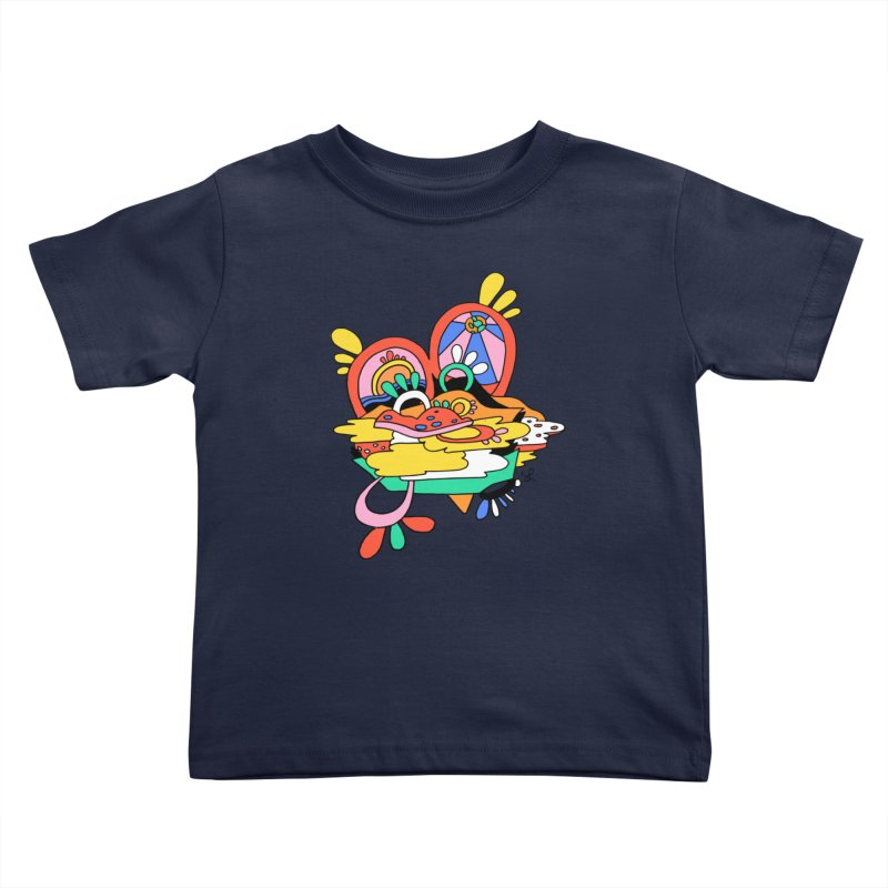 Something Abstract Kids Toddler T-Shirt by Shelby Works