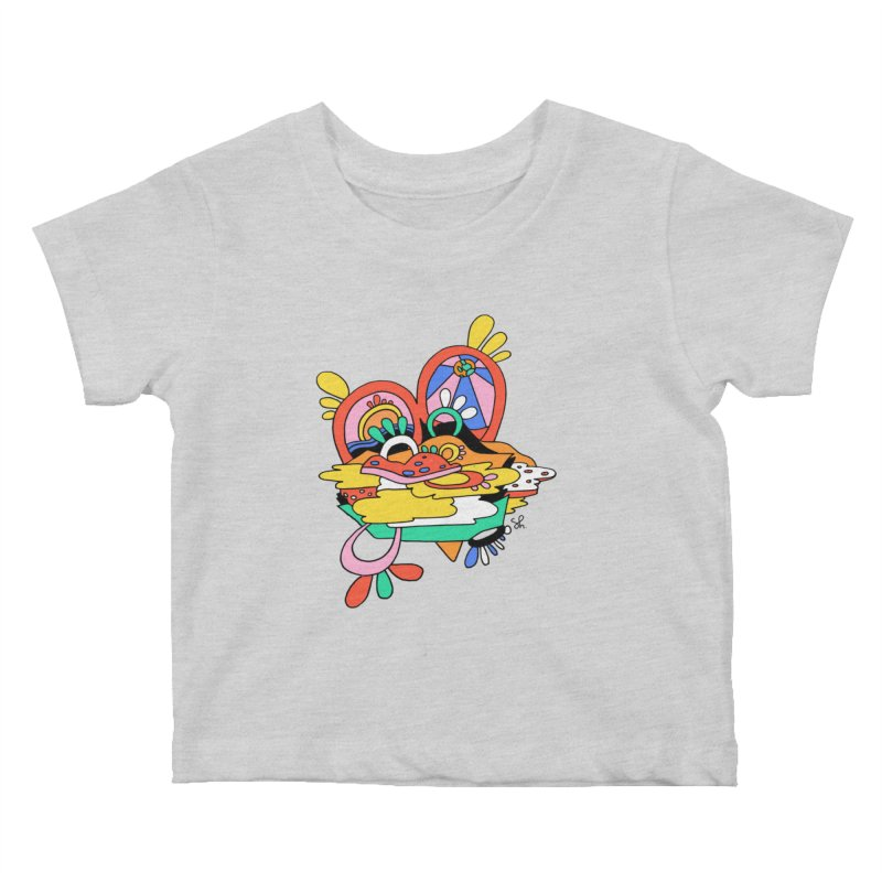 Something Abstract Kids Baby T-Shirt by Shelby Works