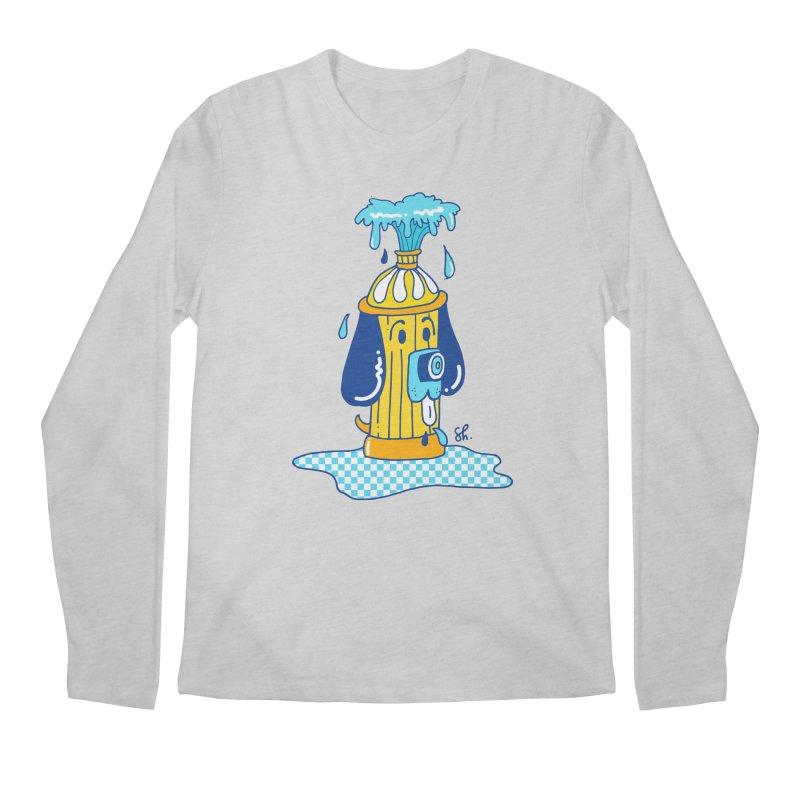 Woof Woof Men's Regular Longsleeve T-Shirt by Shelby Works