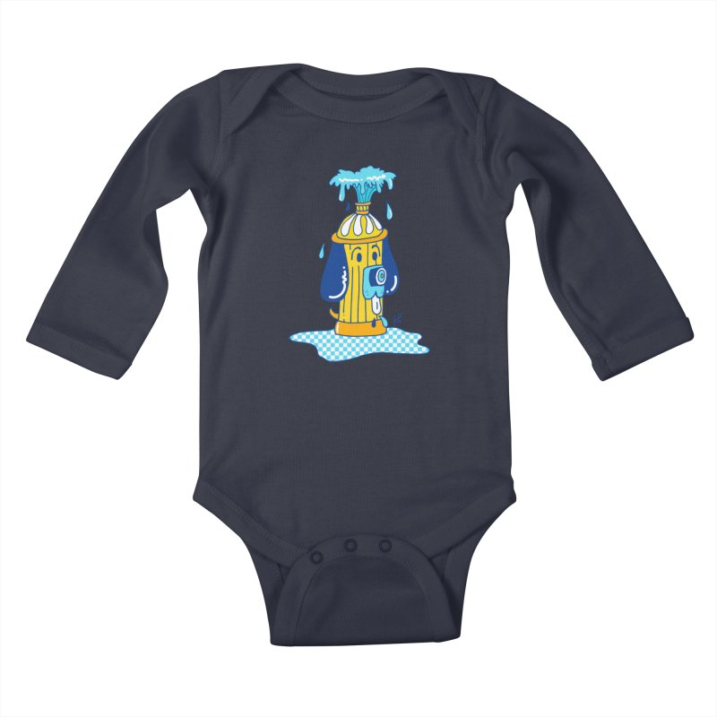 Woof Woof Kids Baby Longsleeve Bodysuit by Shelby Works