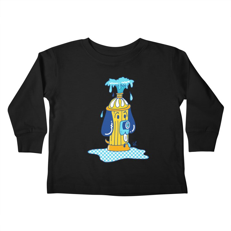 Woof Woof Kids Toddler Longsleeve T-Shirt by Shelby Works