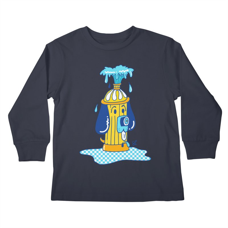Woof Woof Kids Longsleeve T-Shirt by Shelby Works
