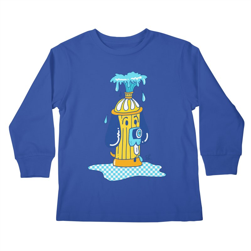 Woof Woof Kids Longsleeve T-Shirt by Shelby Works