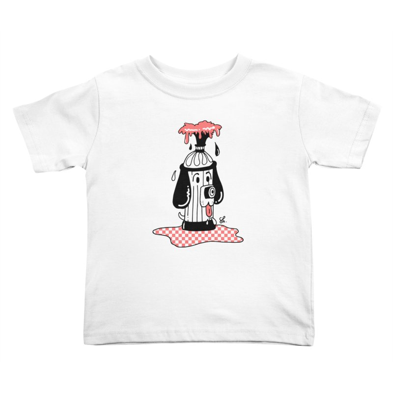 A Dog's Day Dream Kids Toddler T-Shirt by Shelby Works