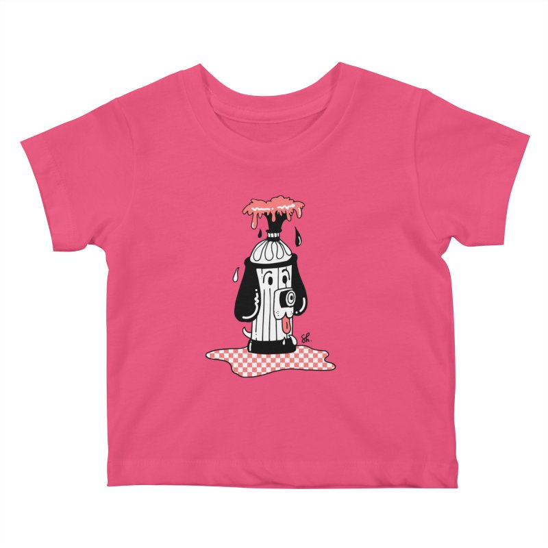 A Dog's Day Dream Kids Baby T-Shirt by Shelby Works
