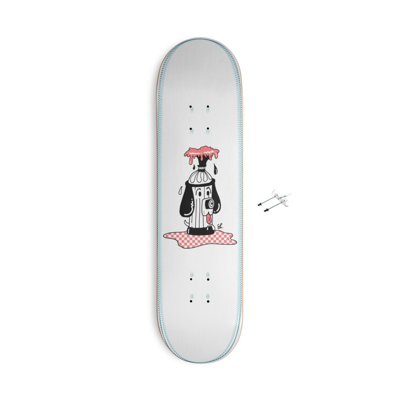 A Dog's Day Dream Accessories With Hanging Hardware Skateboard by Shelby Works