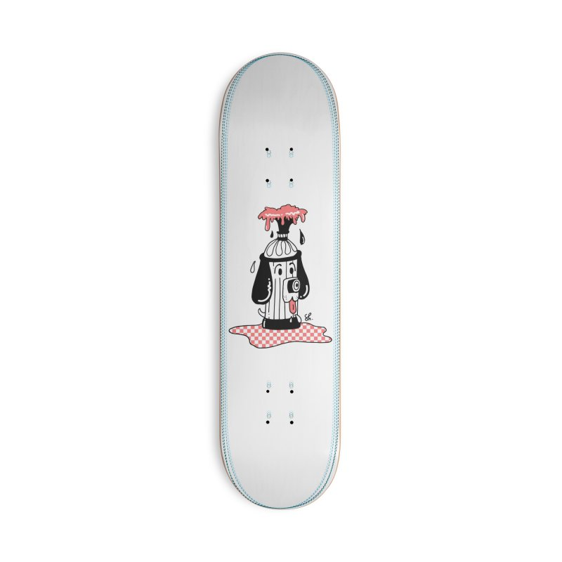 A Dog's Day Dream Accessories Deck Only Skateboard by Shelby Works