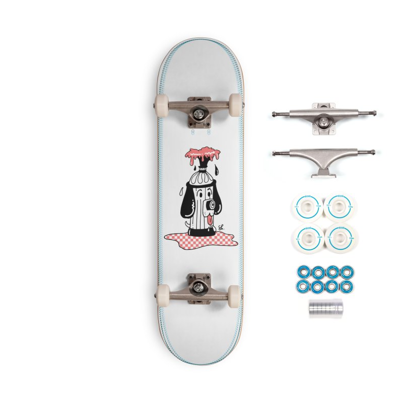 A Dog's Day Dream Accessories Skateboard by Shelby Works