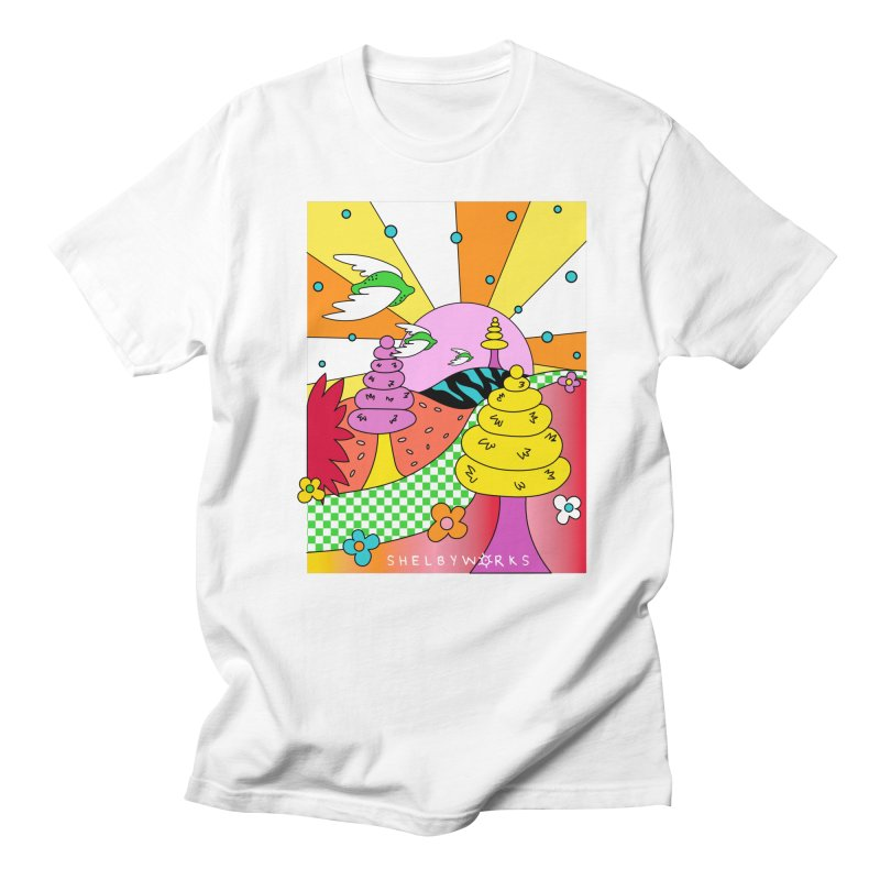 Somewhere Land Men's T-Shirt by Shelby Works