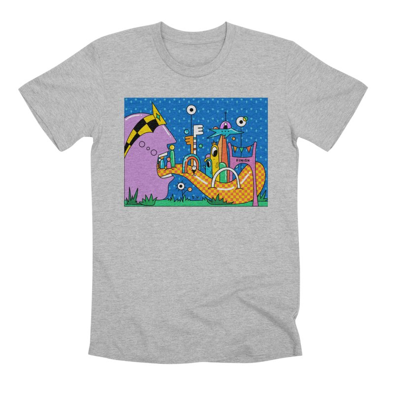 Croquet Day Men's Premium T-Shirt by Shelby Works