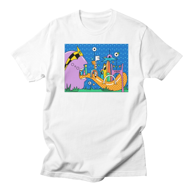 Croquet Day Men's Regular T-Shirt by Shelby Works