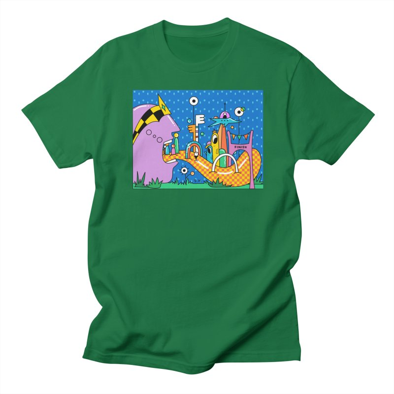 Croquet Day Men's T-Shirt by Shelby Works