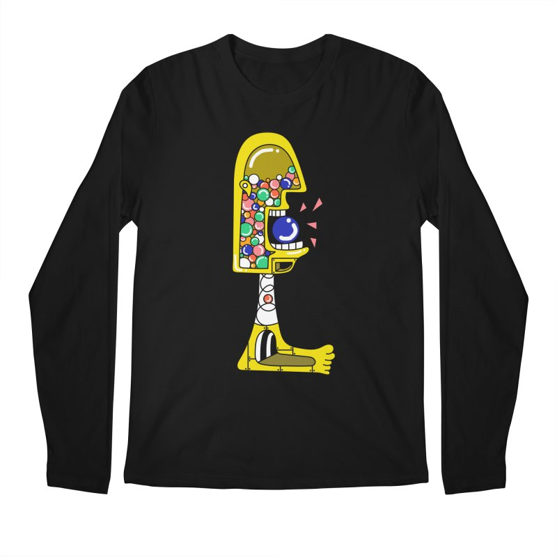 Nom Nom Men's Regular Longsleeve T-Shirt by Shelby Works