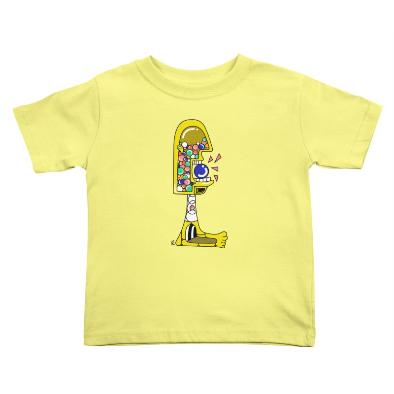 Nom Nom Kids Toddler T-Shirt by Shelby Works