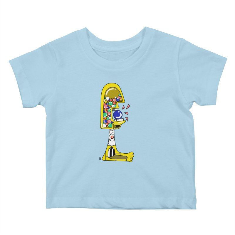 Nom Nom Kids Baby T-Shirt by Shelby Works