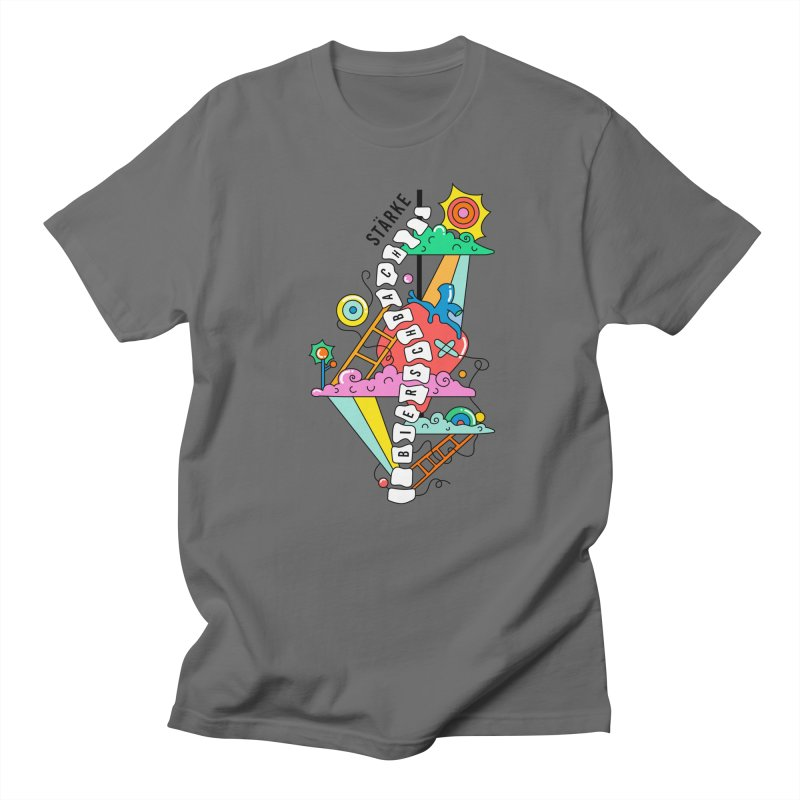 Winding Path Commission Men's T-Shirt by Shelby Works