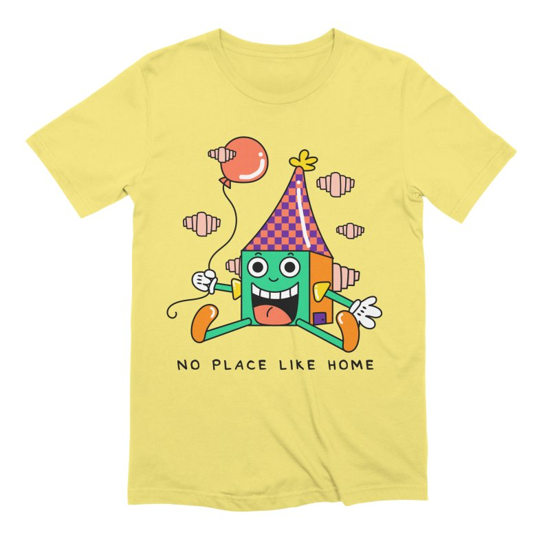 No Place Like Home Men's Extra Soft T-Shirt by Shelby Works