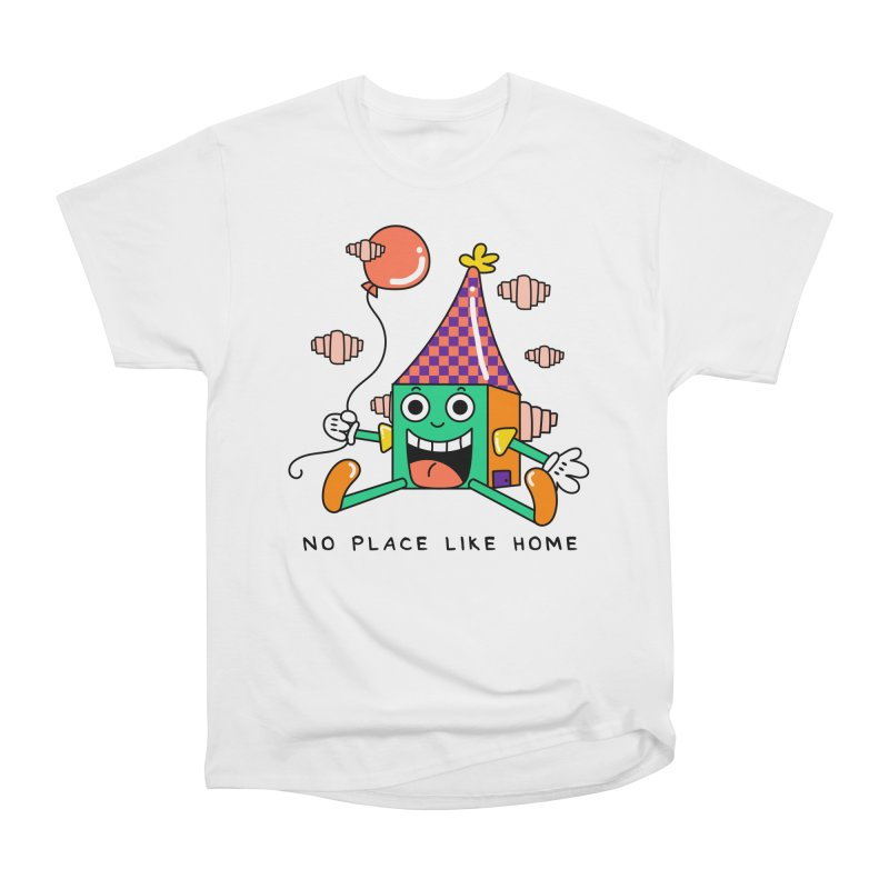 No Place Like Home Women's Heavyweight Unisex T-Shirt by Shelby Works