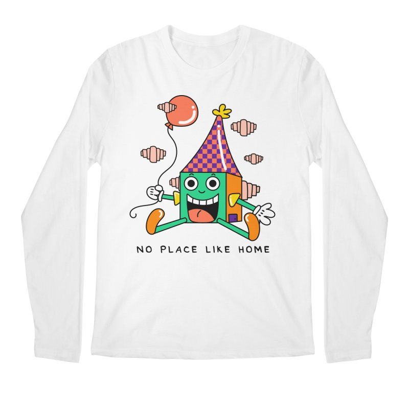 No Place Like Home Men's Regular Longsleeve T-Shirt by Shelby Works