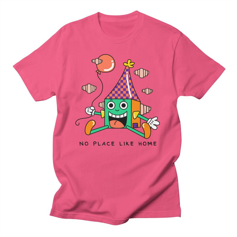 No Place Like Home Men's Regular T-Shirt by Shelby Works