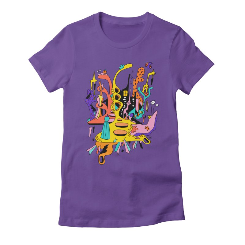 Knight's Castle Women's Fitted T-Shirt by Shelby Works