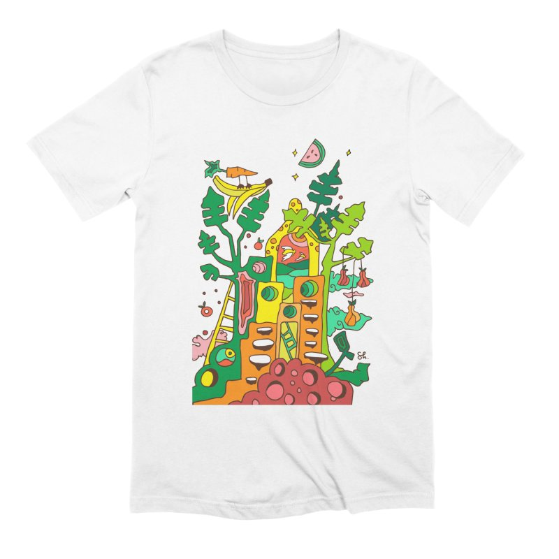 Produce Home Men's Extra Soft T-Shirt by Shelby Works