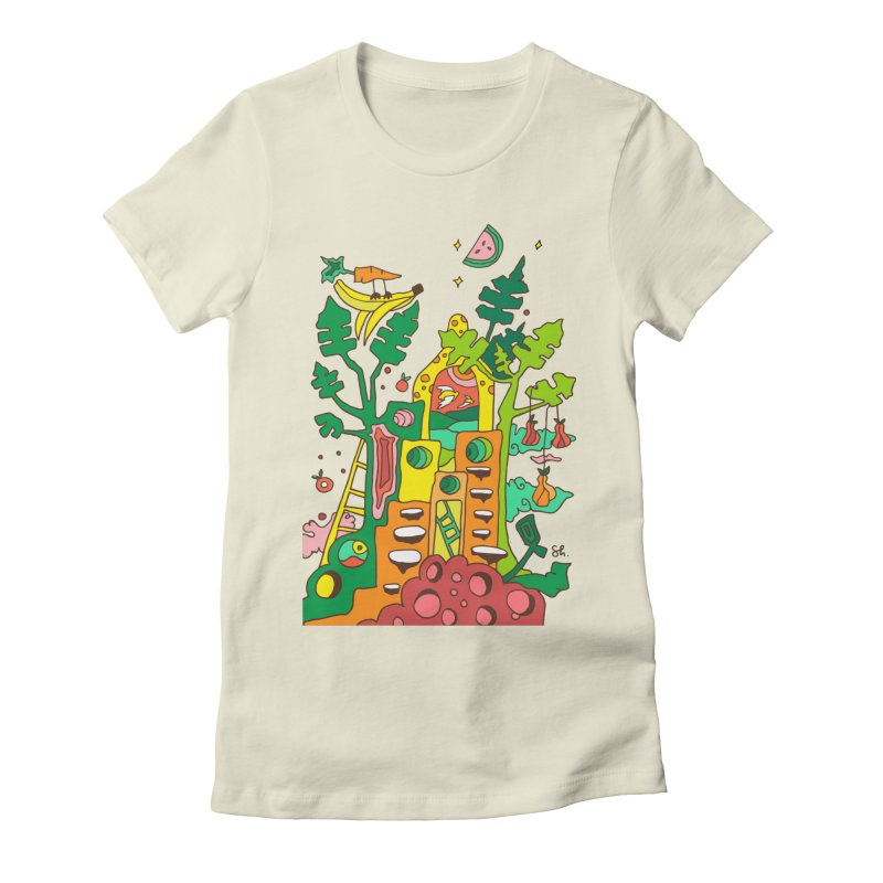 Produce Home Women's Fitted T-Shirt by Shelby Works