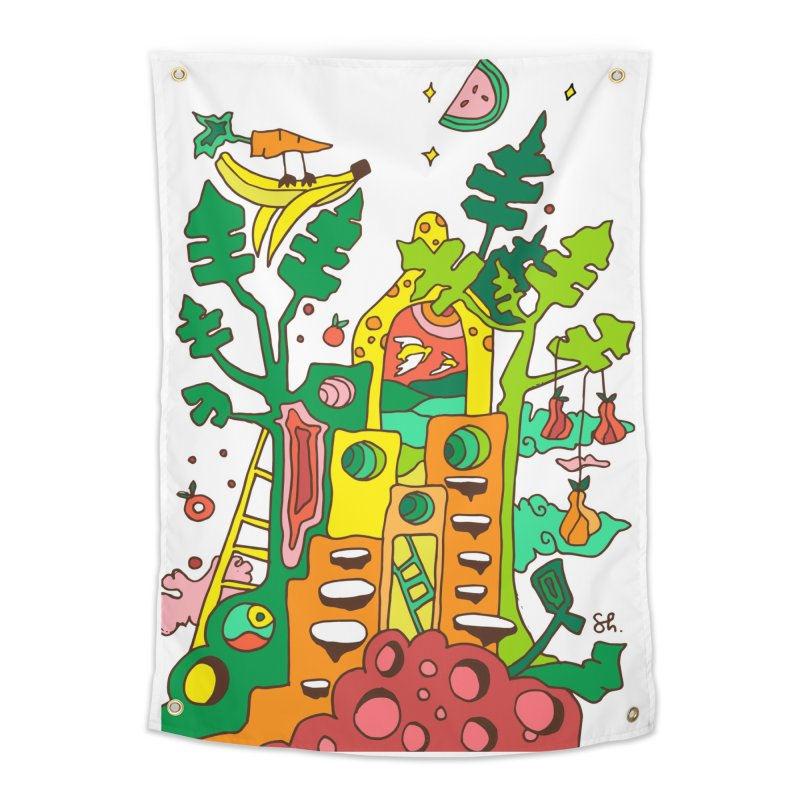 Produce Home Home Tapestry by Shelby Works