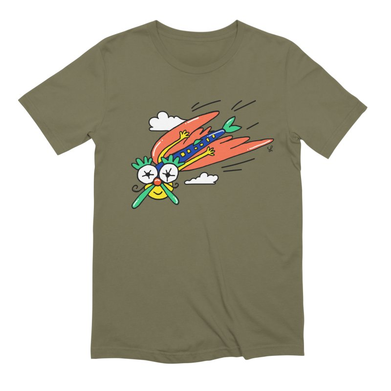 Marvin Airlines Men's Extra Soft T-Shirt by Shelby Works