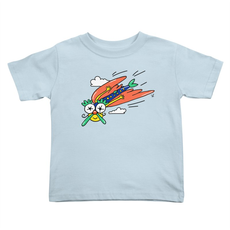 Marvin Airlines Kids Toddler T-Shirt by Shelby Works