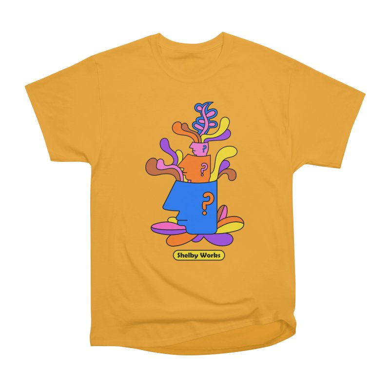 House Plant Men's Heavyweight T-Shirt by Shelby Works
