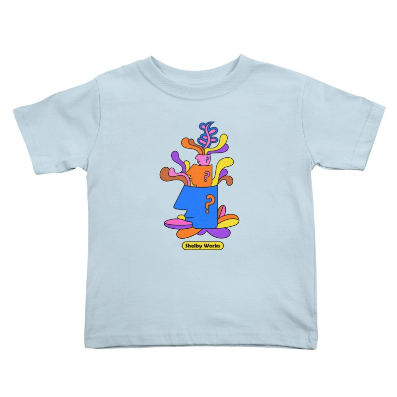 House Plant Kids Toddler T-Shirt by Shelby Works