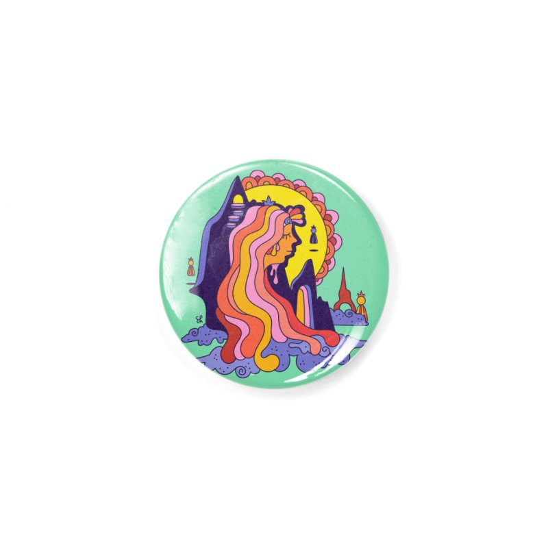 Girl in the Mountain Accessories Button by Shelby Works