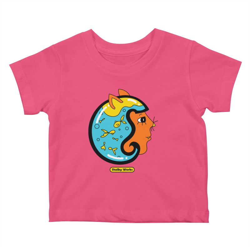 A Snack for Later Kids Baby T-Shirt by Shelby Works
