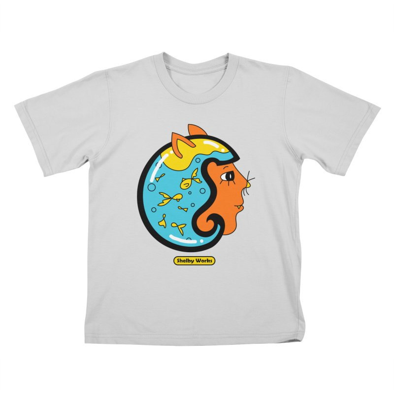 A Snack for Later Kids T-Shirt by Shelby Works