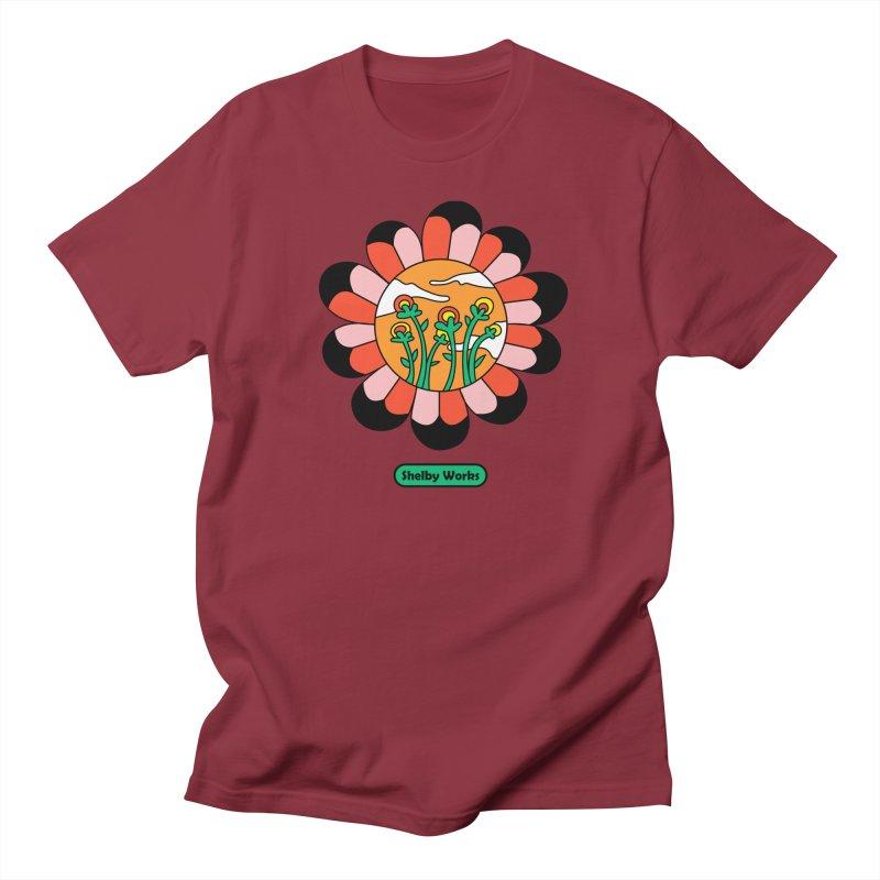 Flower Power Women's Regular Unisex T-Shirt by Shelby Works