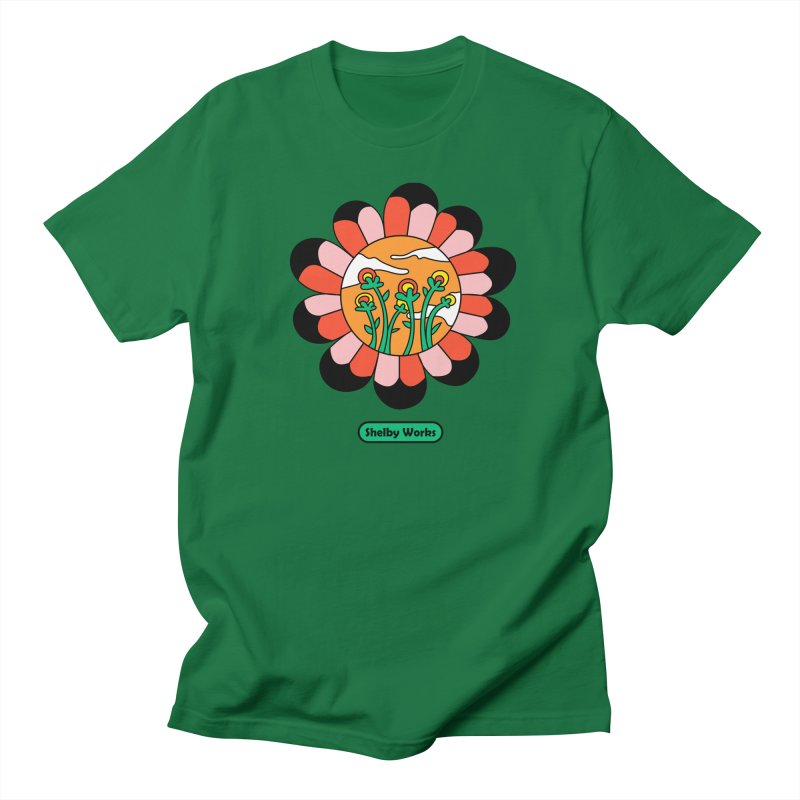Flower Power Men's T-Shirt by Shelby Works