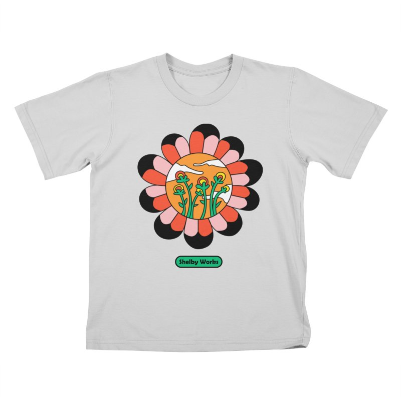 Flower Power Kids T-Shirt by Shelby Works